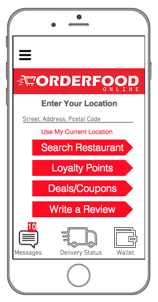 order food in Llyodminster